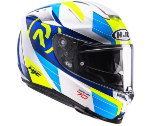 HJC Motorradhelm RPHA 70 LIF MC2 Wei/ß//Blau//Gelb Gr/ö/ße L