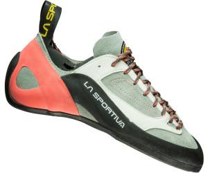 La Sportiva Finale Grau, Damen Kletterschuh, Größe EU 36.5 - Farbe Grey-Coral Damen Kletterschuh, Grey - Coral, Größe 36.5 - Grau