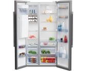 Amerikanischer Kühlschrank Beko : Beko side by side kühlschrank preisvergleich günstig bei idealo kaufen