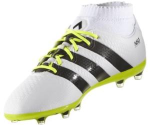meet 423f3 31b77 botas de fútbol adidas ace 16.1 primeknit fg ag amarillo negro  adidas ace  16.1 primeknit fg men