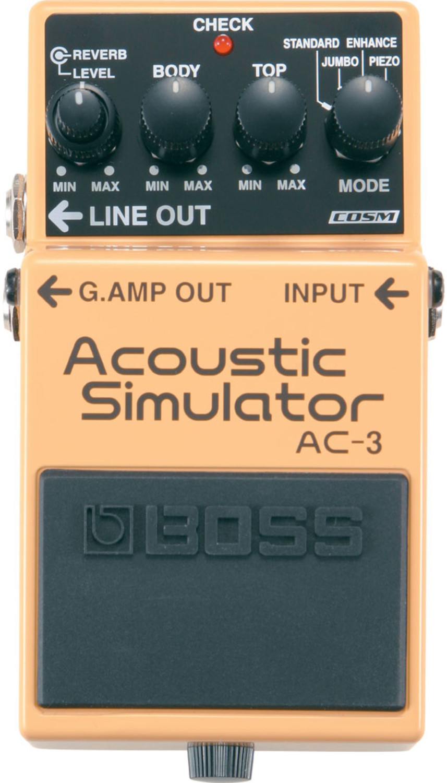 Image of Boss AC-3 Acoustic Simulator