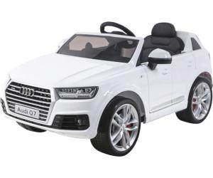 Kinderfahrzeuge Audi Q7 quattro Kinderauto Kinderfahrzeug Kinder Elektroauto 2x Motoren 12V blau