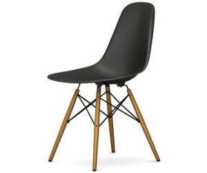vitra eames plastic side chair dsw basalt ab 343 00 preisvergleich bei. Black Bedroom Furniture Sets. Home Design Ideas