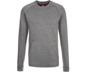 Nike Sportswear Tech Fleece Crew Carbon Heather