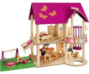 howa puppenhaus 70041 ab 59 95 preisvergleich bei. Black Bedroom Furniture Sets. Home Design Ideas