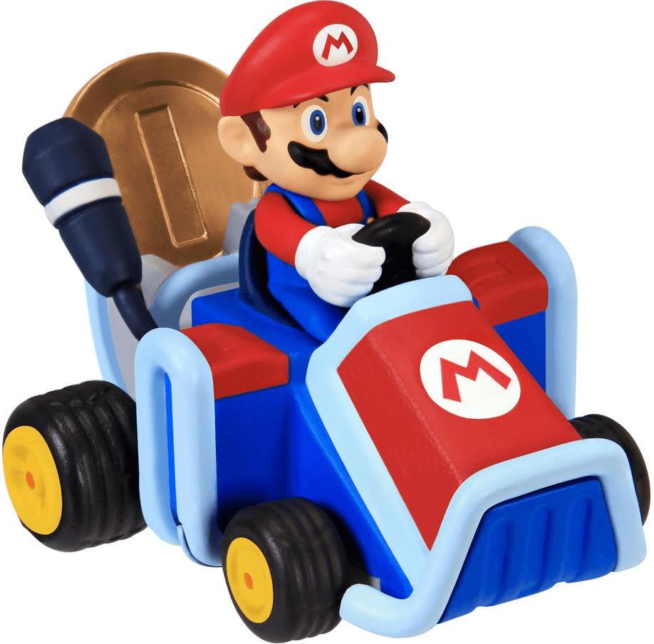 Image of Giochi Preziosi NItendo Figur Super Mario Coin Racers W1- Mario