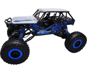 amewi crazy crawler blue 4wd rtr 1 10 rock crawler 22218. Black Bedroom Furniture Sets. Home Design Ideas