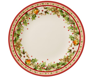 Villeroy /& Boch Winter Bakery Delight Zuckerdose Premium Porzellan Weiß//Rot Weiß//Rot 14-8612-0930