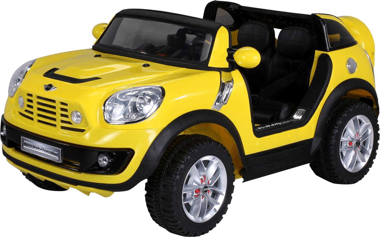 Actionbikes Kinder Elektroauto BMW Mini Beachcomber Lizenziert gelb (PR0017618-03)