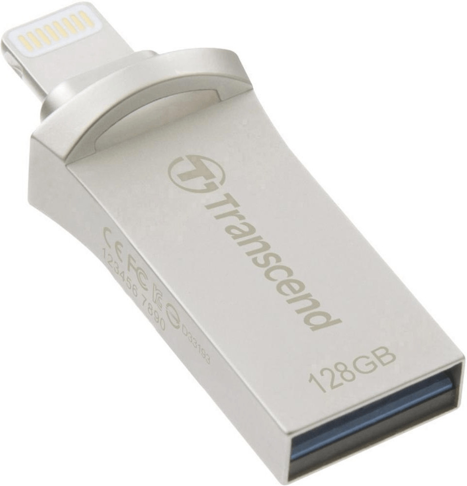Transcend JetDrive Go 500 128GB silber