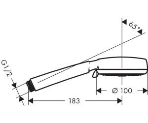 Hansgrohe Crometta 100 Vario Handbrause 26824400 Ab 16 36