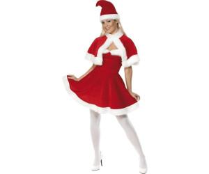 Smiffy's Weihnachtsfrau mit Cape L (33317)