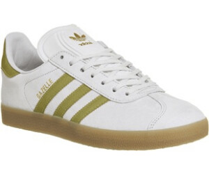 Buy Adidas Gazelle Vintage White Gold Metallic Gum from £56.38 ... 987d20c82