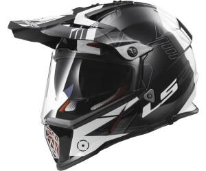 CASCO LS2 Helmet Motard MX436 PIONEER ELEMENT MATT BLACK TITANIUM