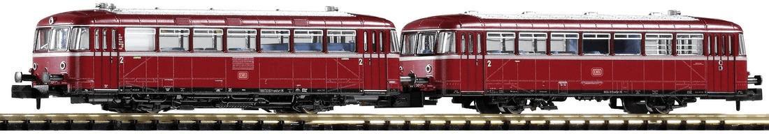 Piko N Schienenbus VT98 mit Steuerwagen VS98 (4...