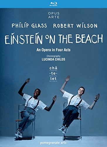 Image of Glass & Wilson: Einstein on the Beach [Blu-ray]