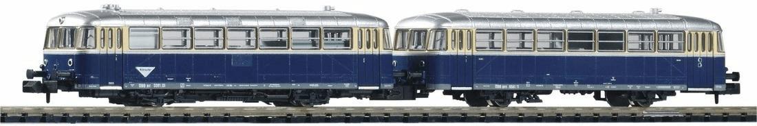 Piko N Schienenbus 5081 mit Steuerwagen (40251)