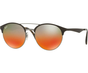 92d0b8c6286 Buy Ray-Ban RB3545 9006 A8 (brown gradient silver) from £91.20 ...