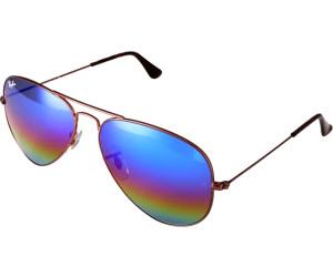 Ray Ban Ray-Ban Sonnenbrille »aviator Large Metal Rb3025«, Grau, 9019c2 - Grau/mehrfarbig