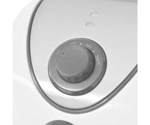 50451 vidaXL Friggitrice ad Aria 3,5 L in Acciaio Inox Antiaderente Bianca