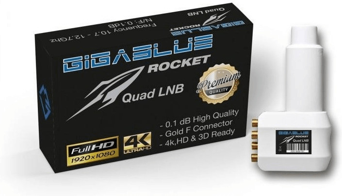 GigaBlue Rocket Quad