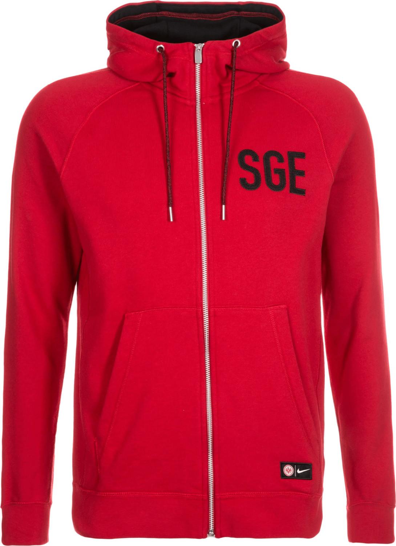 Nike Eintracht Frankfurt Full-Zip Hoodie SGE rot