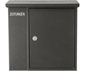 heibi briefkasten mit zeitungsfach 43661 ab 89 72. Black Bedroom Furniture Sets. Home Design Ideas