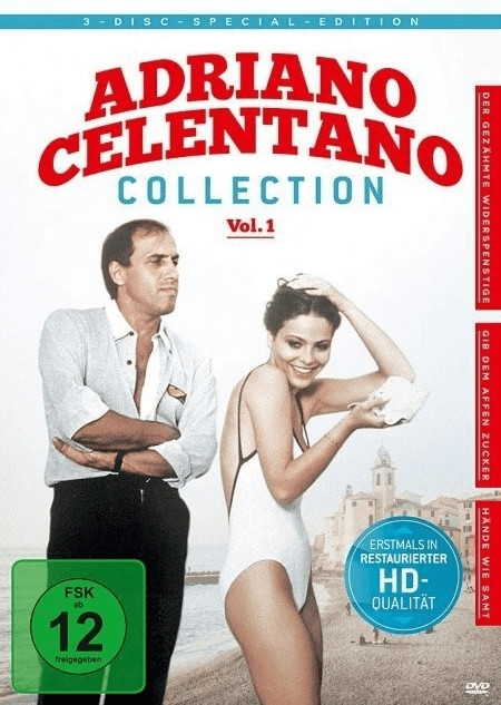 Die Adriano Celentano Collection Vol. 1 [DVD]