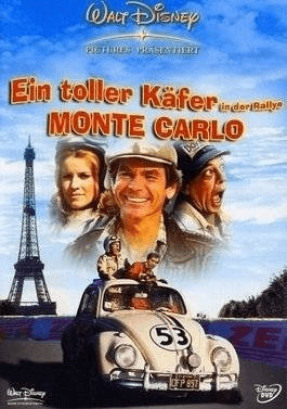 Ein toller Käfer in der Rallye M. Rallye Monte ...
