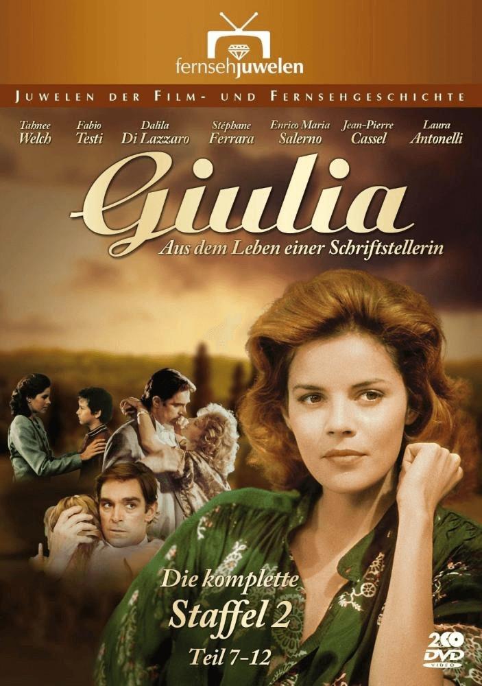Giulia - Aus dem Leben einer Schriftstellerin Staffel 2 Teil 7-12 (Fernsehjuwelen) [DVD]