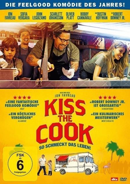 Kiss the Cook - So schmeckt das Leben! [DVD]
