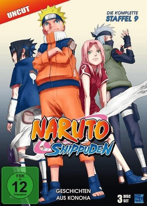 Naruto Shippuden Box: Geschichten aus Konoha (Staffel 9: Folgen 396-416) (uncut) [DVD]