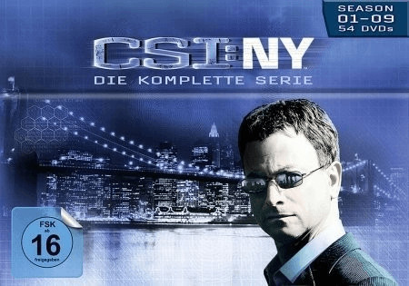 CSI: N.Y. - Season 1-9 Komplettbox [DVD]