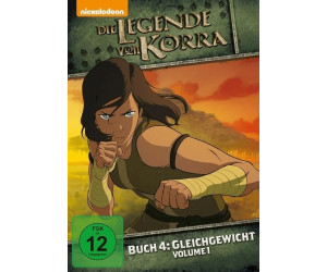 Die Legende von Korra Buch 4: Gleichgewicht Vol.1 [DVD]
