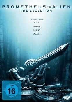 Alien Evolution (inklusive Prometheus): Prometheus to Alien - The Evolution [DVD]