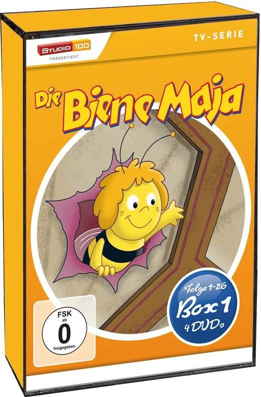 Die Biene Maja - Box 1 - Staffel 1 Teil 1 Folge 1-26 [DVD]
