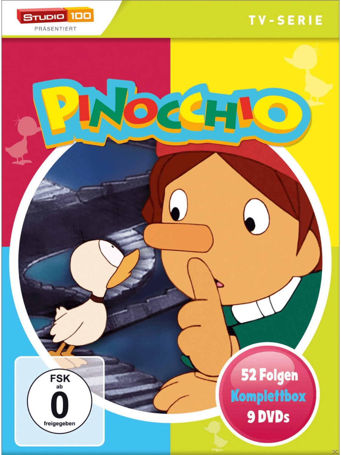 Pinocchio Komplettbox (TV Serie) [DVD]