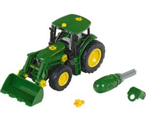 Klein john deere traktor mit frontlader und gewicht ab