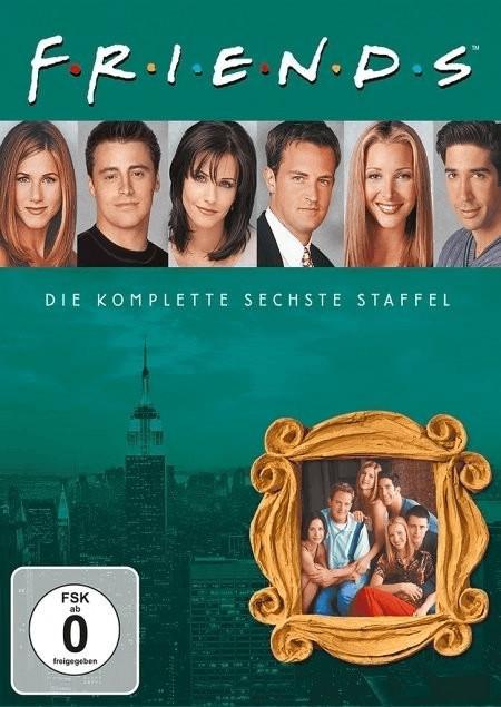 #Friends – Staffel 6 (Box Set) [DVD]#