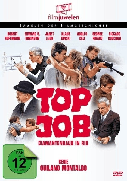 Top Job - Diamantenraub in Rio (Filmjuwelen) [DVD]