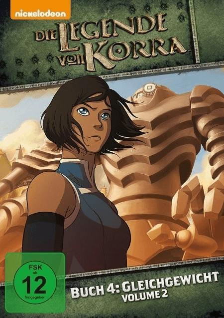 Die Legende von Korra Buch 4: Gleichgewicht Vol. 2 [DVD]