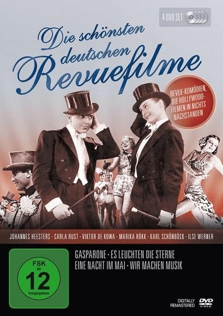 Die schönsten deutschen Revuefilme [DVD]