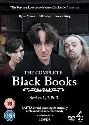 Image of Black Books - seriess 1-3 [DVD]