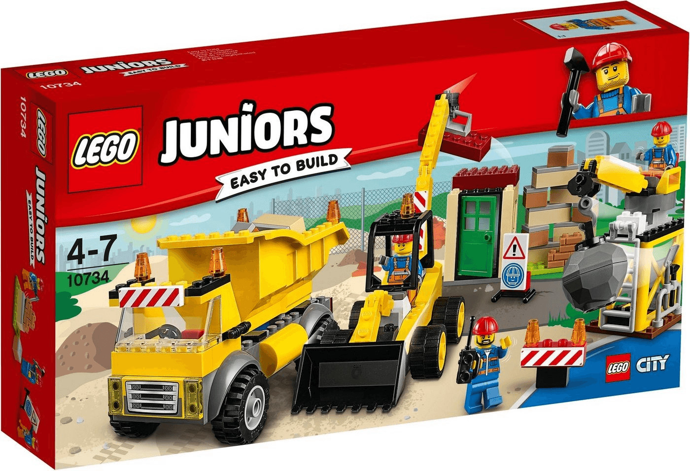 LEGO Juniors - Große Baustelle (10734)