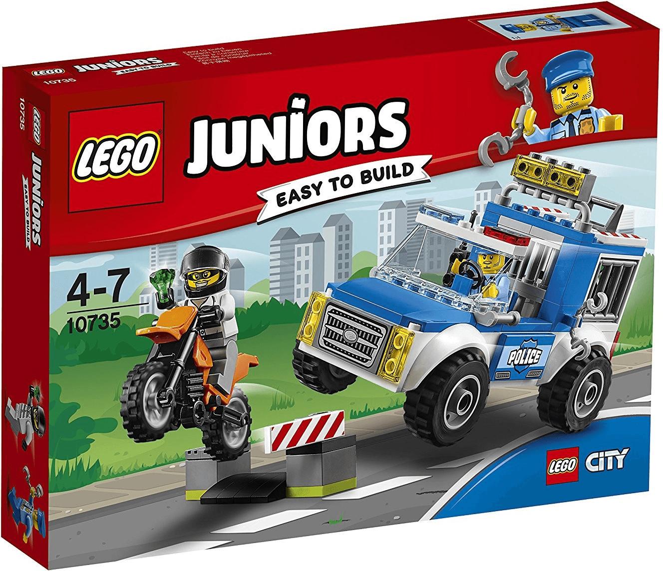 LEGO Juniors - Polizei auf Verbrecherjagd (10735)