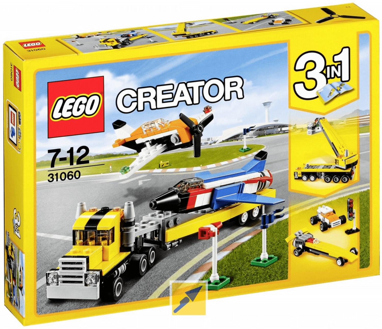 LEGO Creator - 3 in 1 Flugschau-Attraktionen (31060)