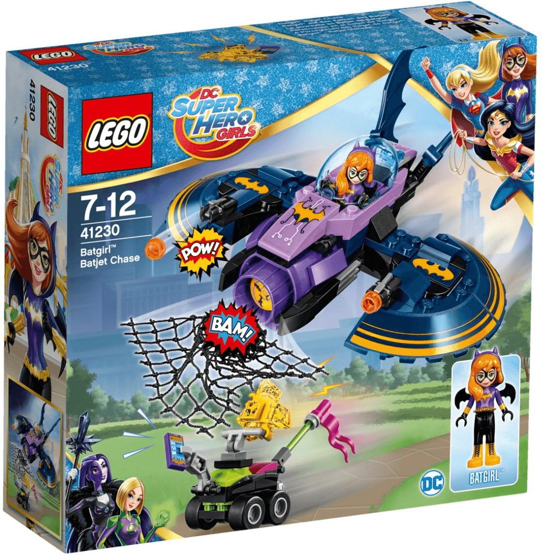 LEGO DC Super Hero Girls - Batgirl auf den Fersen des Batjets (41230)