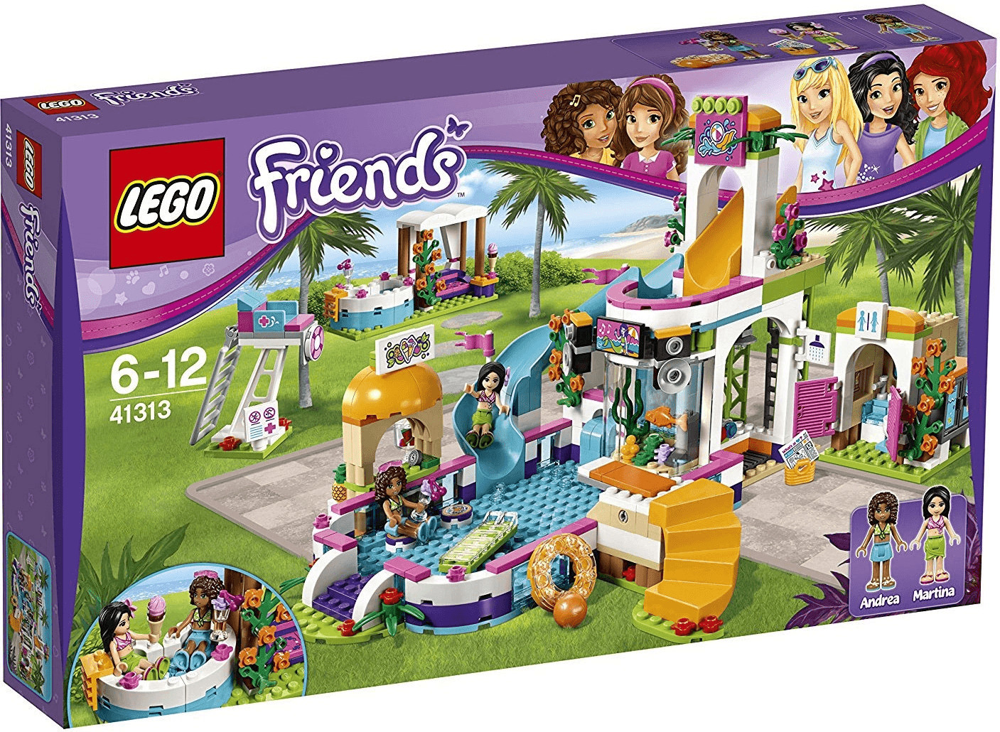 LEGO Friends - Heartlake Freibad (41313)