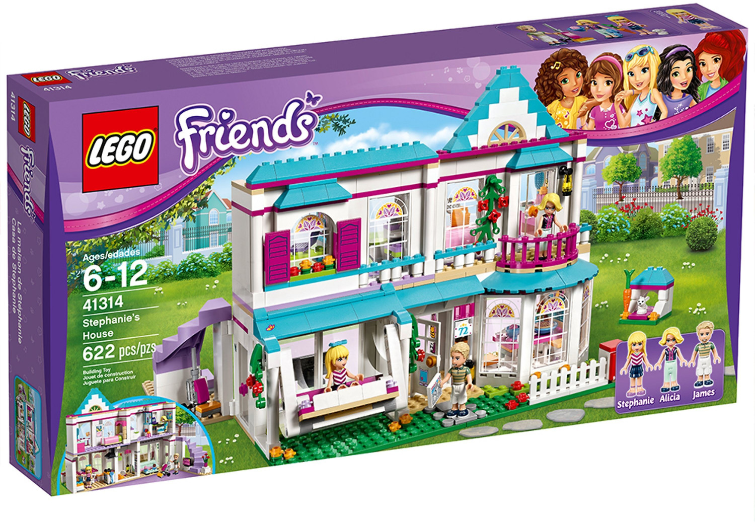 LEGO Friends - Stephanies Haus (41314)
