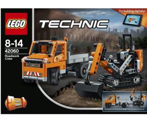 LEGO Technic Straßenbau-Fahrzeuge 42060